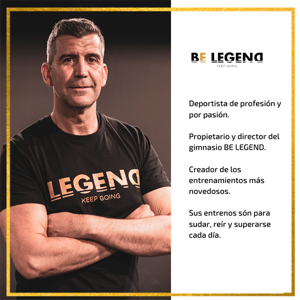 equipo be legend